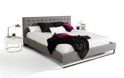 Bed Okc by Leather Modern Platform Bed Tulsa Oklahoma Vgem