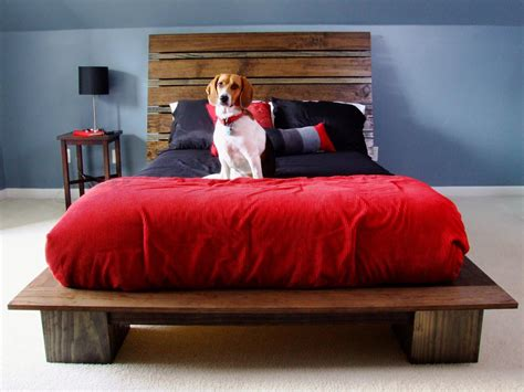 build a bed how to build a modern style platform bed how tos diy
