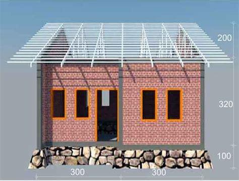 Desain Rumah Sederhana 8 X 12