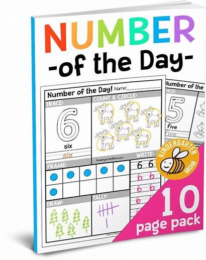 Number Worksheets Kindergarten Math Numbers Preschool Kindergartenmom