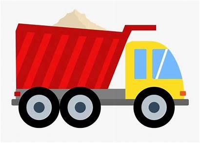 Dump Truck Clip Clipart Cartoon Tow Transparent