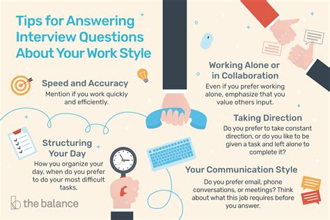 answer interview questions   work style