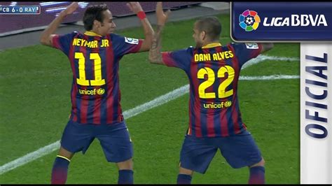 Golazo de Neymar (6-0) en el FC Barcelona – Rayo Vallecano ...