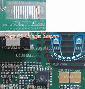 Nokia C2-00 Lcd Display Light Jumper Solutions