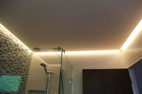 led strip  bathroom ceiling    main light