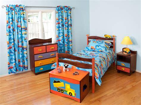Boy Bedroom Furniture by 5 Boys Like Trucks Bedroom Set Chocolate Finish Ebay