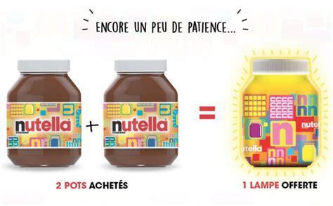 le nutella offerte pour 2 pots de p 226 te 224 tartiner achet 233 s