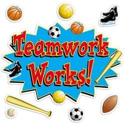 Teamwork Bulletin Board Sports