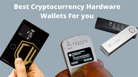 These private keys are encrypted and treasured away in a separate, failproof module of the hardware. Top Bitcoin Hardware Wallets: A Comprehensive List