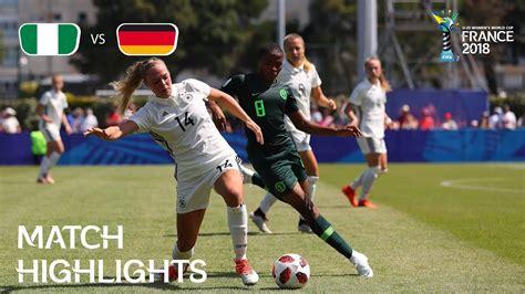 Nigeria Germany Fifa Women World Cup France