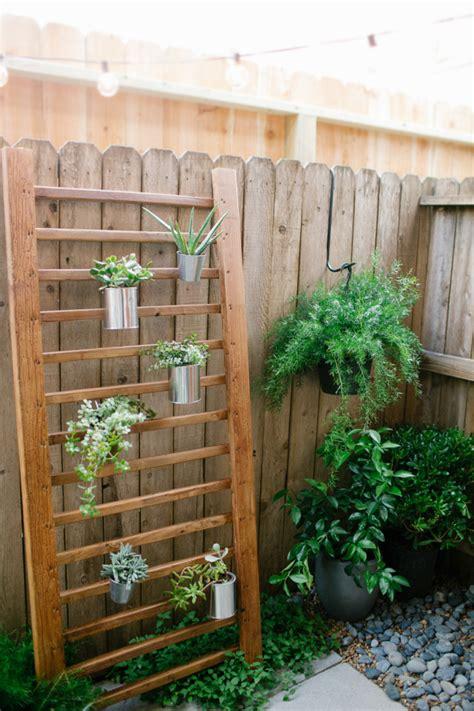 backyard diy spruce ups   budget