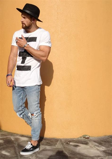 24 Edgy Men Summer Outfits With Vans Sneakers - Styleoholic