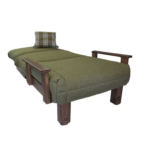 Futon Single Bed Chair by Kensington Single Chair Bed Wood Stain Colours