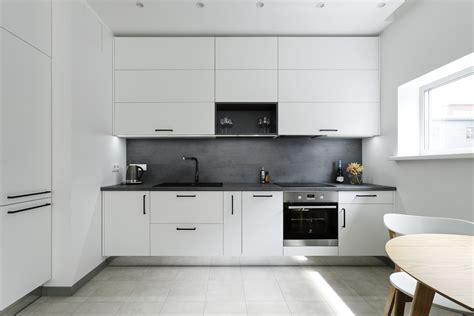 Eleganta virtuve skandināvu minimālisma noskaņās ...