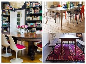 Chaise Moderne Avec Table Ancienne : comment relooker ses meubles de famille elle d coration ~ Teatrodelosmanantiales.com Idées de Décoration