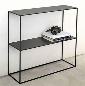 Console Style Industriel : console m tal acier brut de style industriel sur mesure ~ Teatrodelosmanantiales.com Idées de Décoration