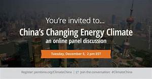 China's energy revolution: What does it mean for Canada ...