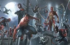 Обои captain spider, miles morales, spider ham, spider ...
