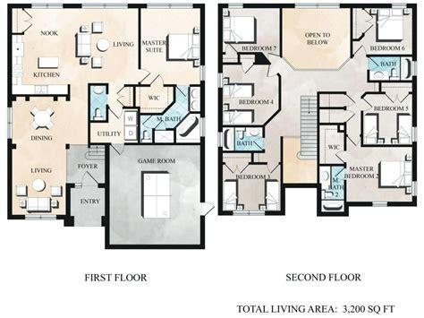 7 Bedroom House Plans musicdna