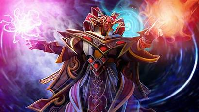 Dota Invoker Defense Heroes Ancient Fantasy Corporation