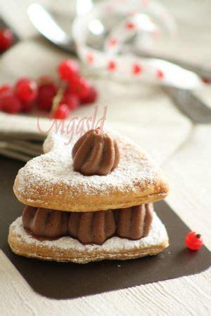 dessert de valentin mille feuilles au chocolat de la st valentin mes gourmandises qu on se le dise