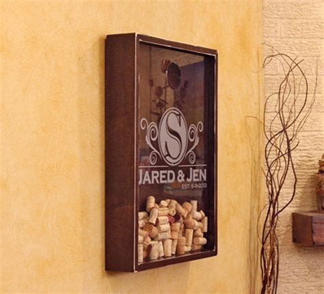 Wines Cork Holder Wall Frame Decoration by 18x24 Wine Cork Holder Wall Decor Personlized