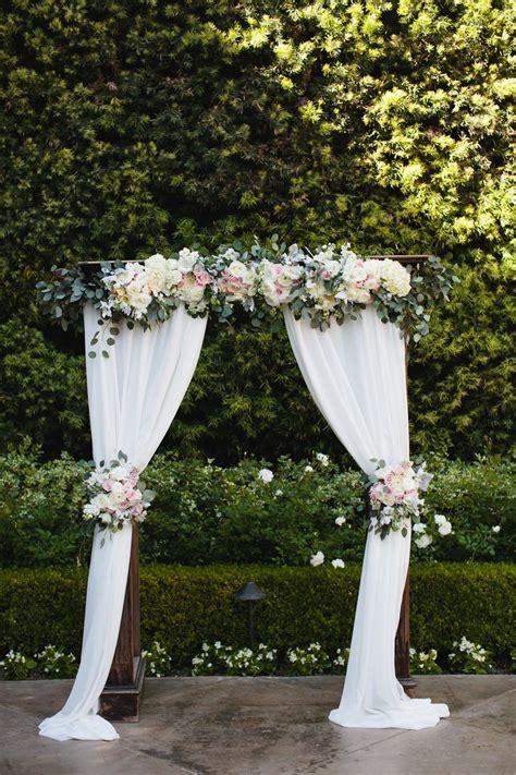 25 Best Ideas About White Wedding Arch On Pinterest