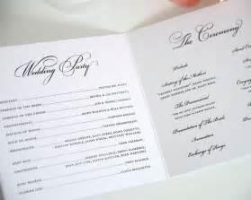 wording for wedding programs circle monogram wedding programs wedding programs by shine