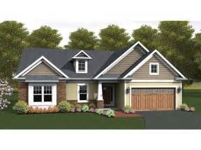 two bedroom house eplans ranch house plan craftsman accented ranch 1818 square and 2 bedrooms from eplans