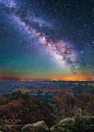 Grand Canyon Milky Way Night