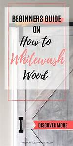 How To Whitewash Wood