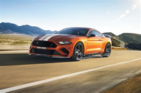 2019 Shelby Gt500 by 2019 Ford Mustang Shelby Gt500 Confirmed With 700