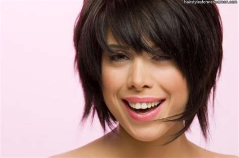 Short Hairstyles For Round Faces Asian