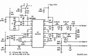 Tv Modulator - Electrical Equipment Circuit