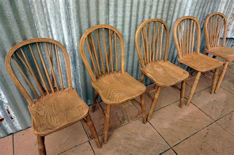 vintage bow back chairs set of 5 for sale at pamono