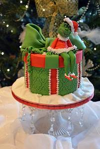 Album Sheet Designs The Grinch By Cherry Cakesdecor Com Cake Decorating