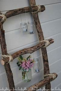 romantic shabby chic diy project ideas tutorials hative With markise balkon mit tapete shabby vintage