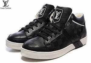 Sneakers Louis Vuitton Homme : louis vuitton chaussure homme noir ~ Nature-et-papiers.com Idées de Décoration