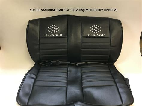 Suzuki Samurai Seat Covers by 1986 1995 Suzuki Samurai Jx Rear Seat Cover Ebay