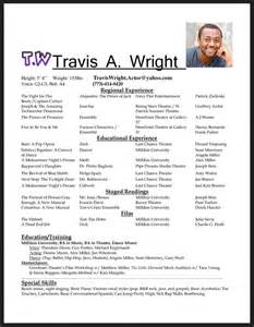 better wording for resumes acting resume format free resume sle
