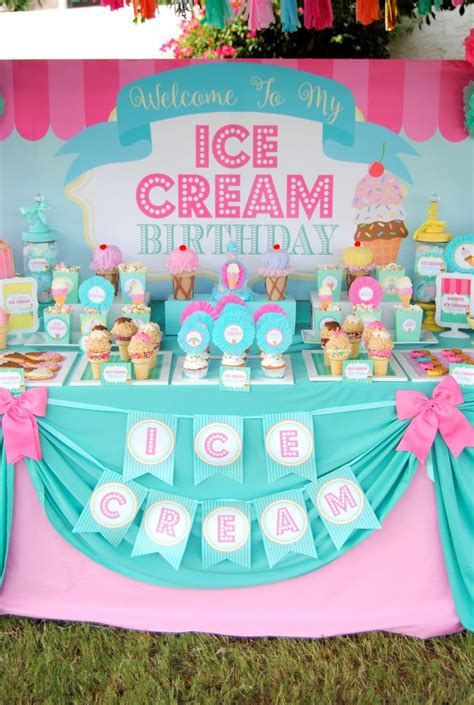 ice cream theme ideas  pinterest ice cream