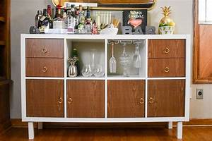 Ikea Kallax Diy : ikea kallax home bar hacks dash of jazz ~ Orissabook.com Haus und Dekorationen