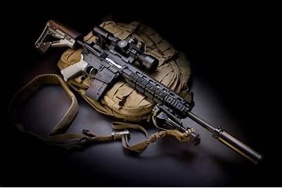 Tactical M4 Larue Wallpapers Military Army Muffler