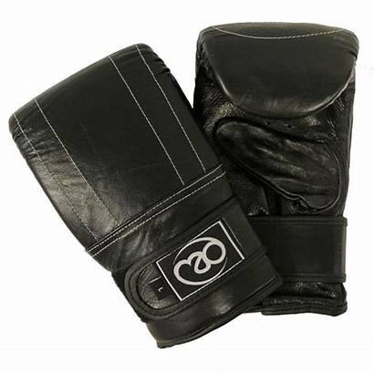 Leather Bag Boxing Mad Mitt Mitts Fitness