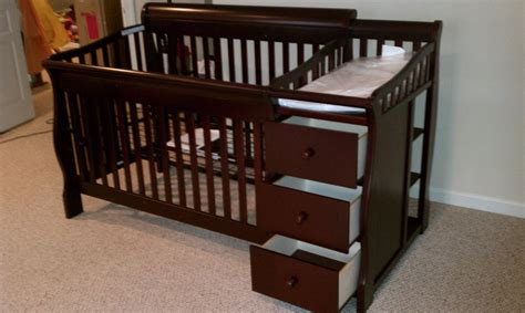crib and changing table combo ba relax first nursery crib and changing table dresser