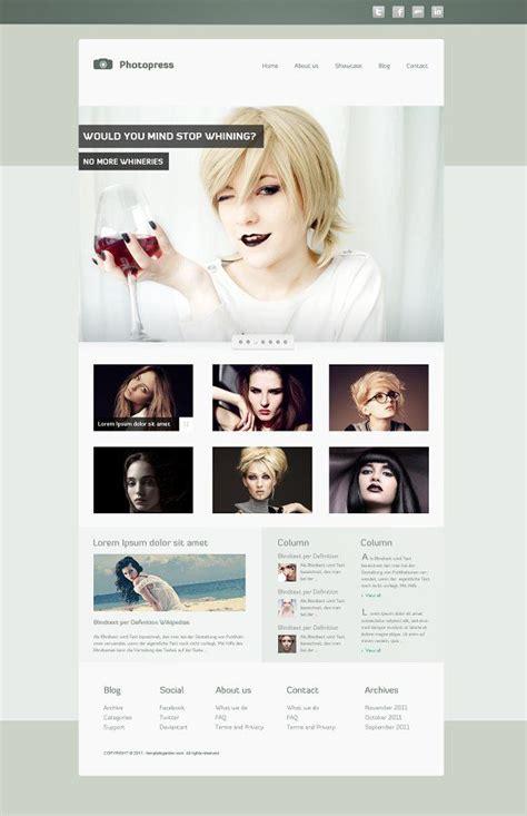 photopress slider images website template design css