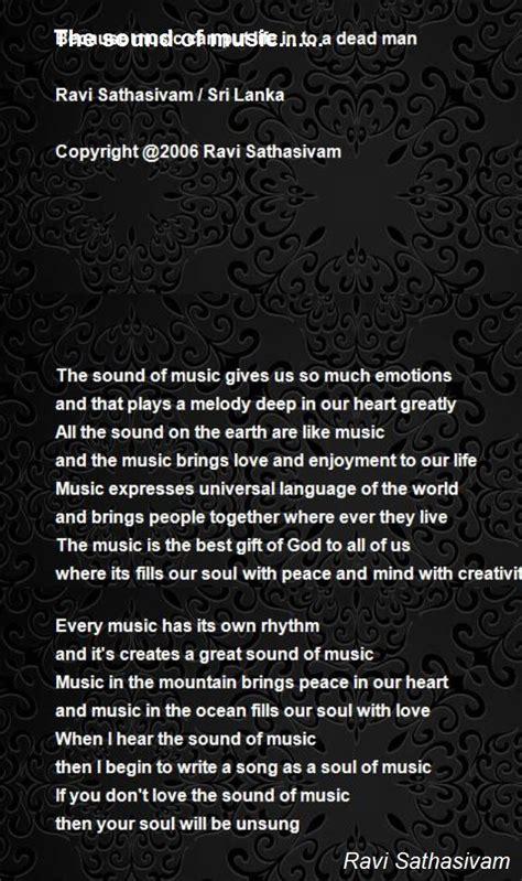 sound   poem  ravi sathasivam poem