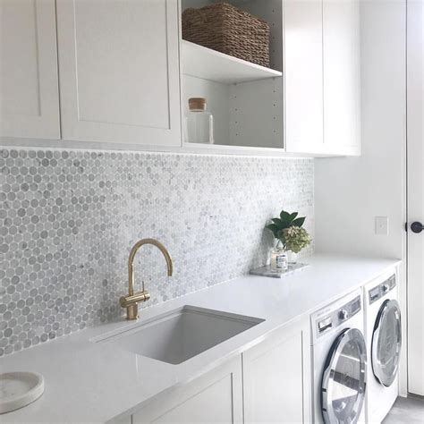 pin  kaelyn ng  design   laundry design modern laundry rooms laundry room tile