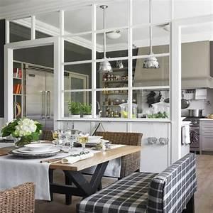 Verriere Cuisine Salon : verriere entre cuisine et salle a manger survl com ~ Preciouscoupons.com Idées de Décoration