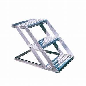 Escalier 4 Marches : escalier galvanis 4 marches escalier manutention levage tirage outillage ~ Melissatoandfro.com Idées de Décoration